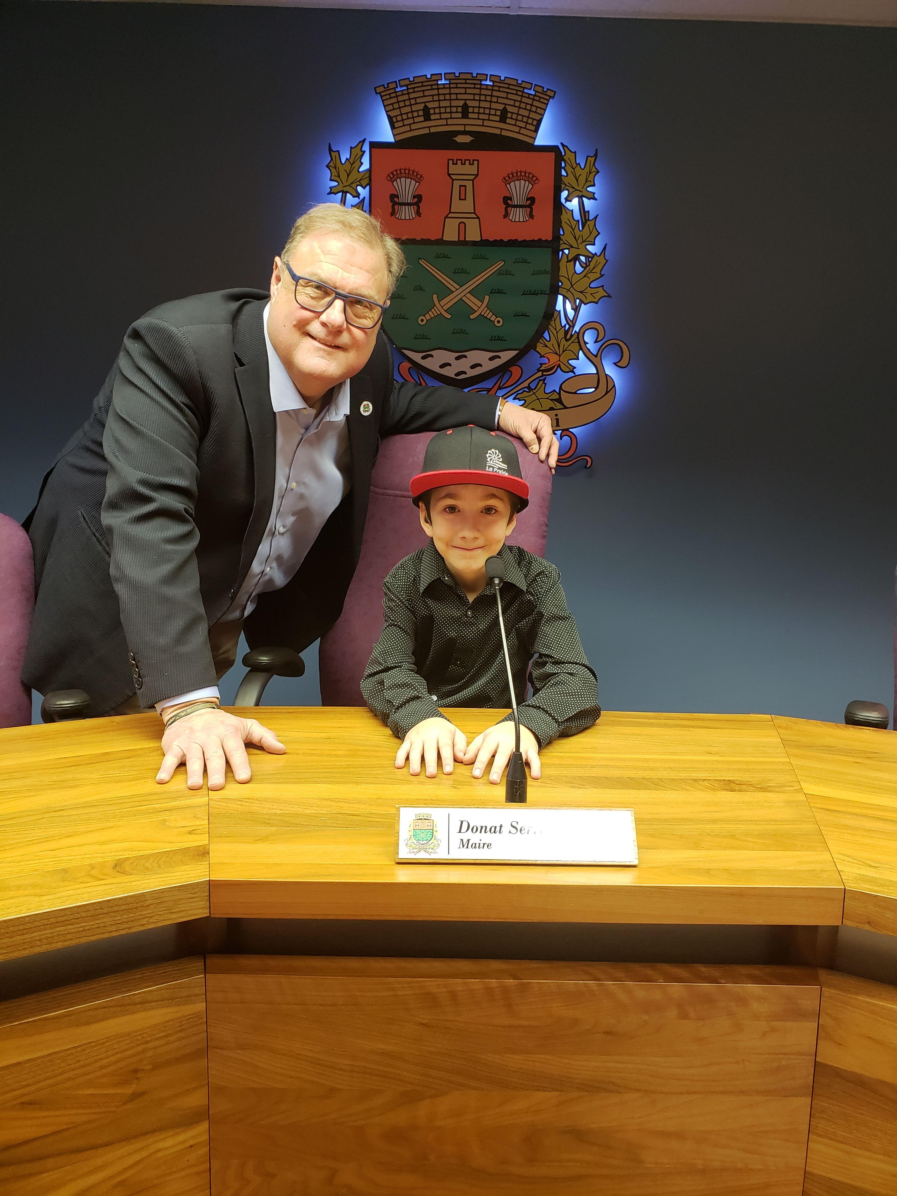 Zac St-Denis, 10 ans, devient ambassadeur de la semaine québécoise des personnes handicapées