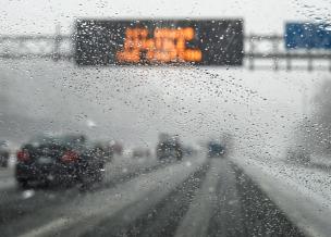 autoroute hiver