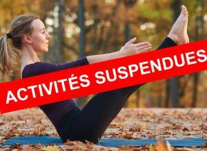 Activité suspendue