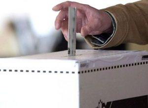 photo, vote, élection, scrutin
