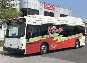 Le RTL lance ses premiers autobus électriques