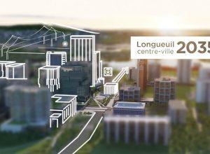 Le voile se lève sur le futur centre-ville de Longueuil