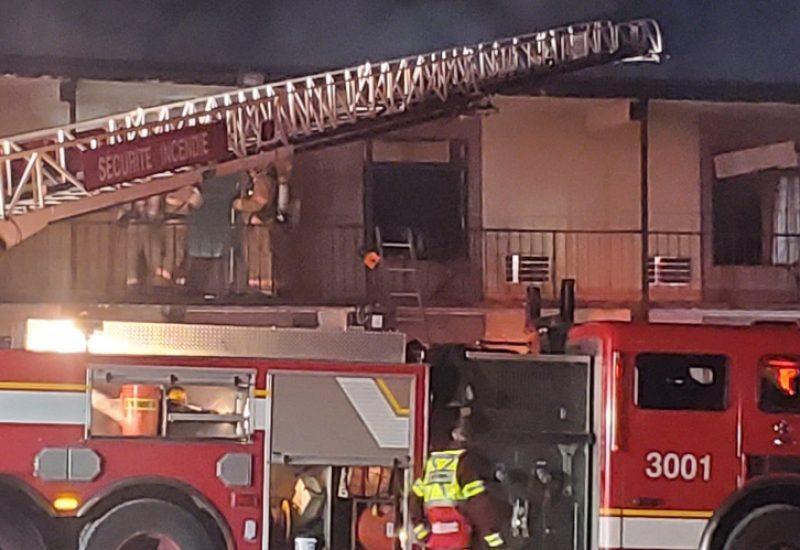 Un incendie s'attaque à nouveau au Motel Royal de Longueuil