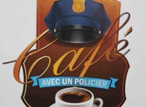 es policiers du Roussillon rencontre des citoyens pour prendre un café