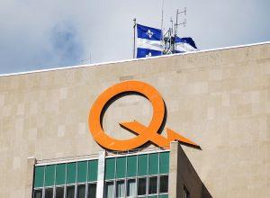 Le siège social d'Hydro-Québec à Montréal