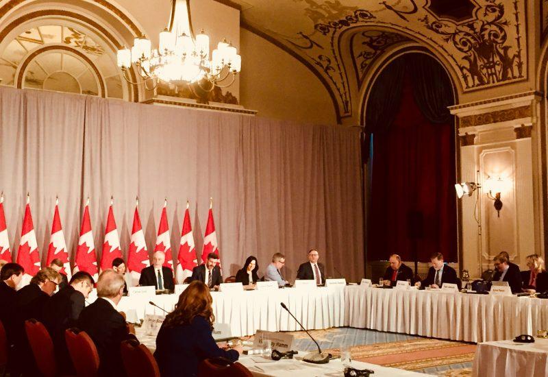 La mairesse de Longueuil défend des intérêts à Ottawa
