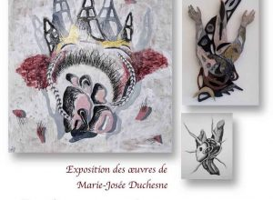 artiste multidisciplinaire Marie-Josée Duchesne.