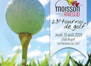 C'est la 23e édition du tournoi de golf au profit de Moisson Rive-Sud