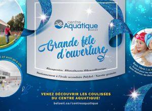 Beloeil inaugura son nouveau centre aquatique le 27 avril prochain