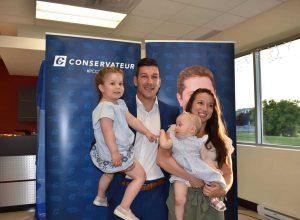 Lancement de la campagne de Mathieu Daviault, candidat du Parti conservateur du Canada dans Pierre-Boucher-Les Patriotes-Verchères