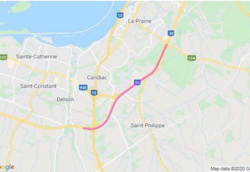 Source: Direction de l'A30 Express
