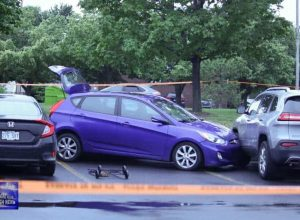 Accident routier impliquant une dame de 71 ans