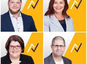 Quatre nouveaux candidats pour le parti Action Longueuil