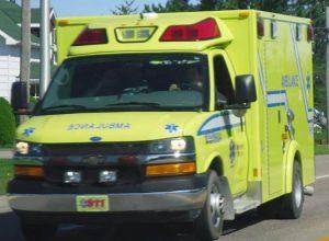 Des ambulanciers font un geste d'humanisme pour un patient en fin de vie