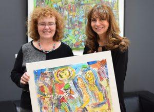 Thérèse Martin expose ses œuvres chez Nathalie Roy