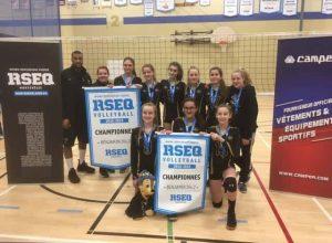 L'école De Mortagne remporte des victoires en volleyball benjamin