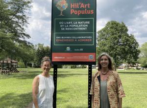 Le Hil'Art Populus prend forme à Mont-Saint-Hilaire