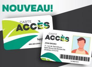 Une seule carte pour tous les services de Saint-Bruno-de-Montarville