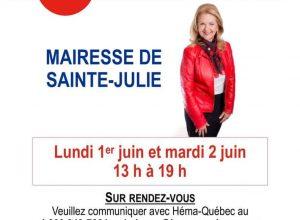 Source: Ville de Sainte-Julie