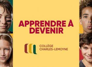 Le Collège Charles-Lemoyne et l'Académie internationale annoncent leurs portes-ouvertes