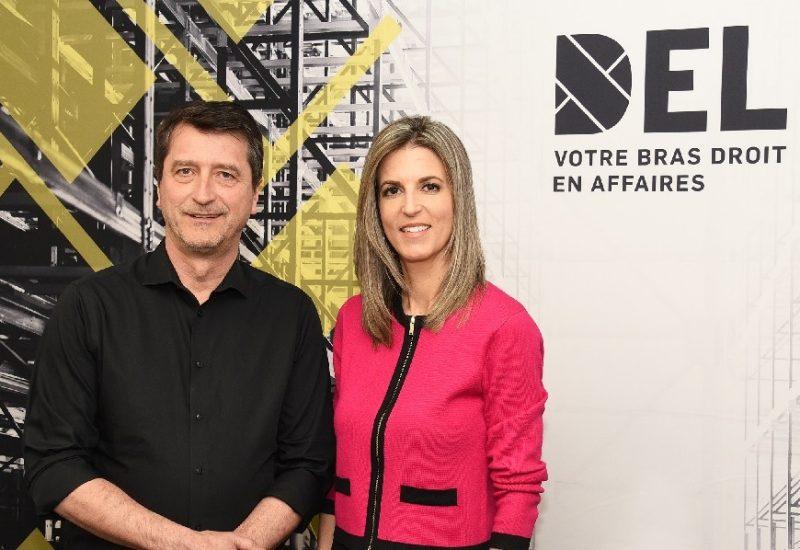 Martial Vincent, président du conseil d'administration de DEL et Julie Ethier, directrice générale de DEL. Photo: DEL