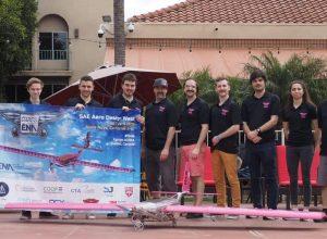 L'équipe Avion-Cargo de l'ÉNA décolle en Californie