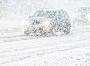 La SQ demande aux automobilistes la vigilance et de rester à la maison.(Photo: Sûreté du Québec/ Twitter)