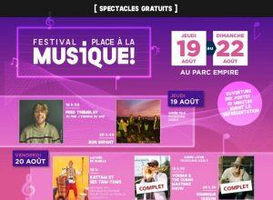 Longueuil fait place à la musique ce mois d'août