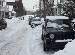 Garer neige auto