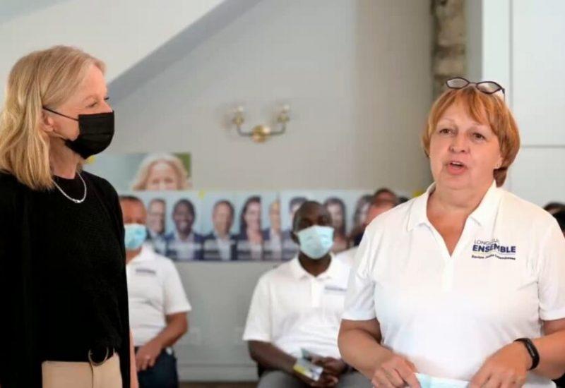 Hélène Bergeron ne se désiste pas de la campagne électorale.