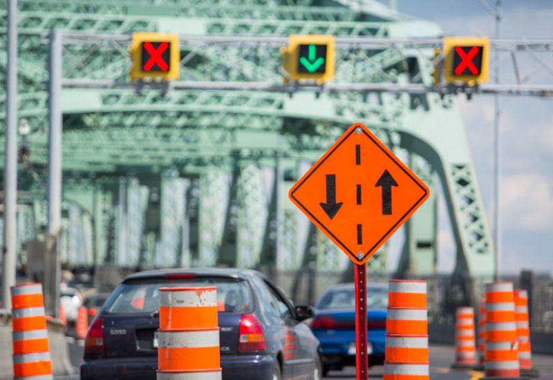 Il y aura du ralentissement sur le pont Jacques-Cartier en fin de semaine