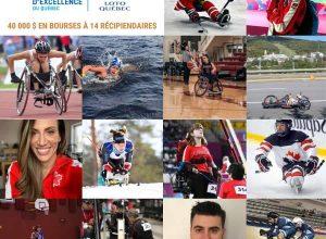 La FAEQ et Loto-Québec récompensent 14 athlètes paralympiques