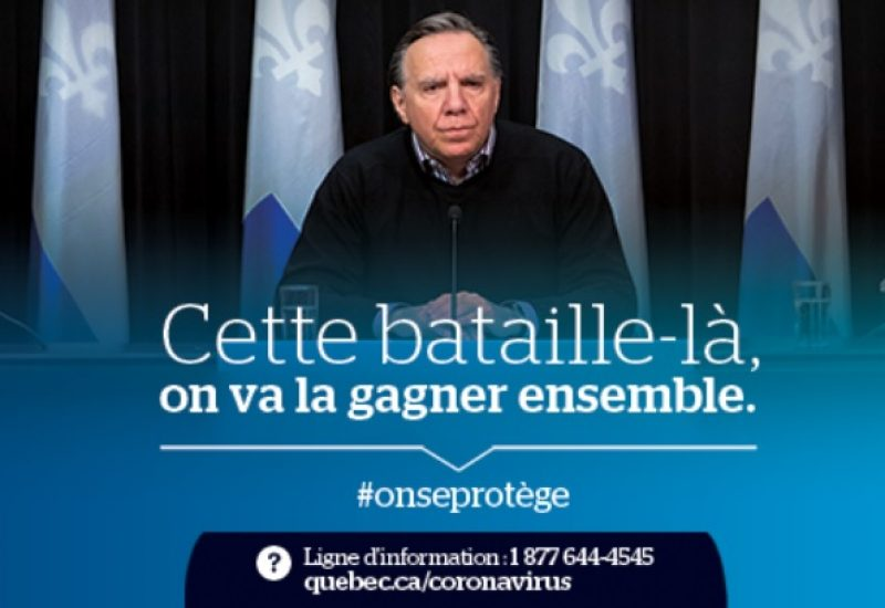Source: Facebook François Legault