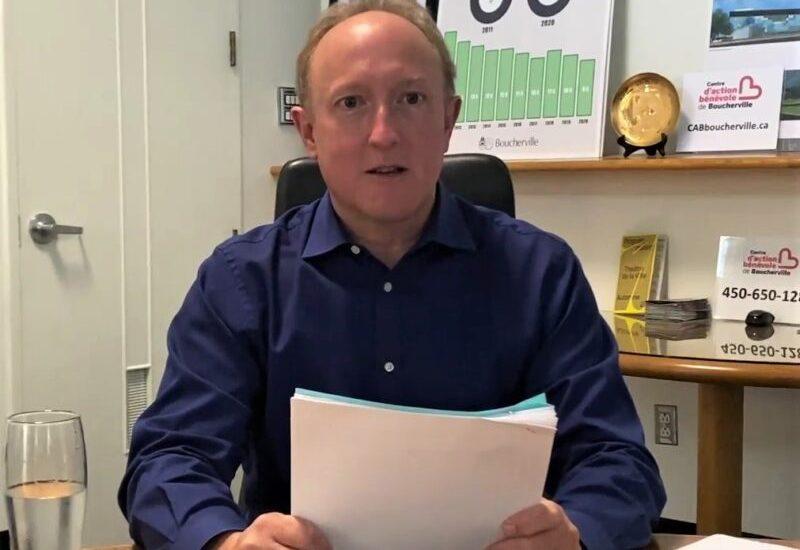Le maire sortant de Boucherville Jean Martel solidifie ses engagements