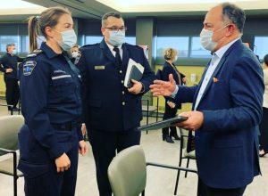Les paramédics de la CETAM en soutien aux urgences