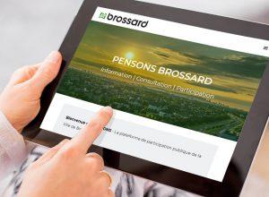 Brossard met en ligne une nouvelle plateforme de consultation citoyenne
