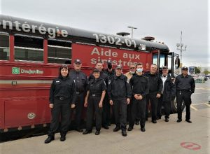 Nouveau véhicule d'urgence pour les pompiers auxiliaires de la Montérégie