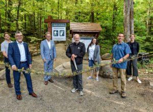 Le nouveau sentier du Piémont ouvert à Mont-Saint-Hilaire