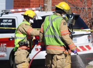 Des collègues de la Rive-Sud au secours du pompier disparu à Montréal