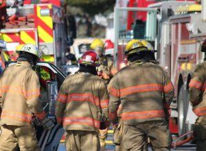 Enquête probable sur un incendie à Saint-Hubert