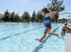 Pataugeoire, piscine, tennis, une multitude d'activités prévues à Saint-Lambert