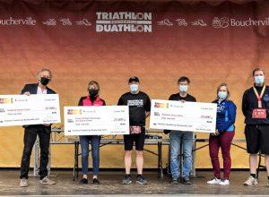 Le Triathlon-Duathlon un franc succès à Boucherville