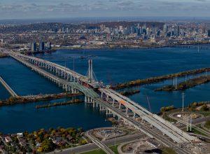 Une capsule temporelle cachée dans le nouveau pont Champlain