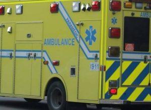 Un motocycliste impliqué dans un accident de la route