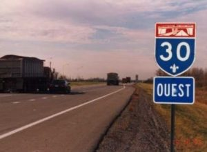 Fermeture de voies sur l'autoroute 30 à Varennes