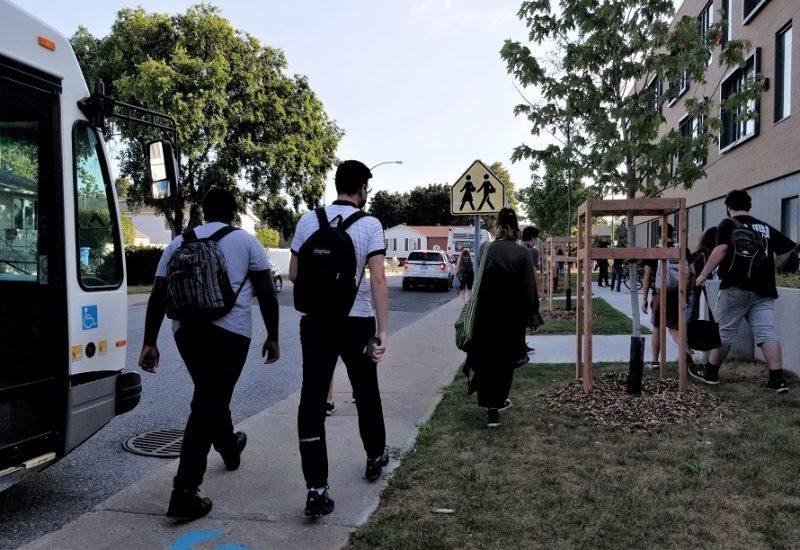 Rentrée scolaire : mesures sanitaires simplifiées à l'école de l'Agora