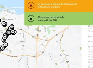carte interactive