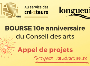 Le Conseil des arts de Longueuil célèbre son 10e anniversaire