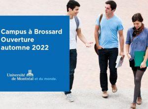 L'Université de Montréal dénénage son campus de la Rive-Sud à Brossard (Photo: Université de Montréal)