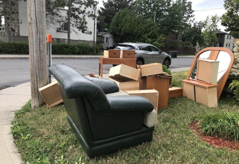 Les déménagements riment avec encombrants